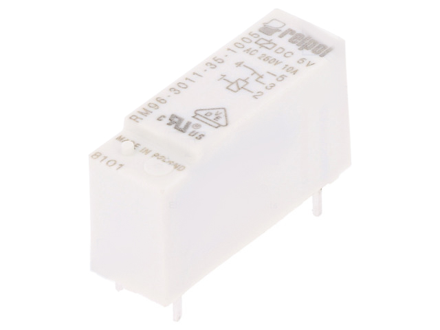 24VDC 8A//250VAC 8A//24VDC electromagnetic DPDT Ucoil RM84-2012-25-1024-01 Relay
